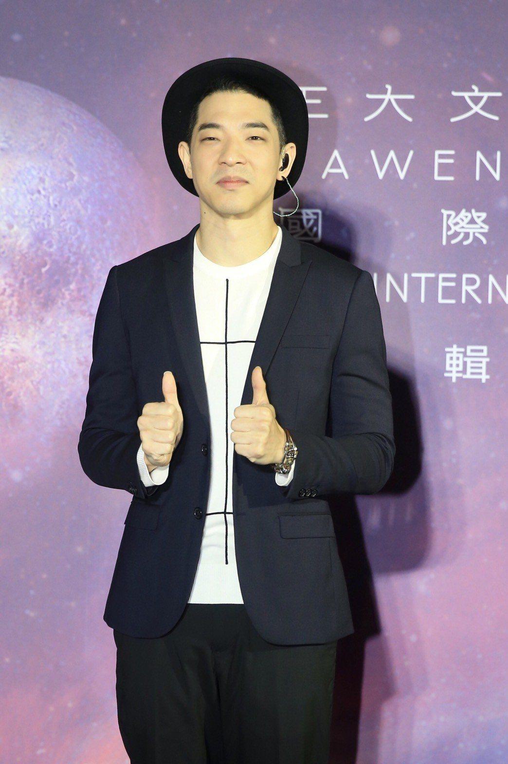 王大文推出最新專輯「國際太空站」。記者林伯東/攝影