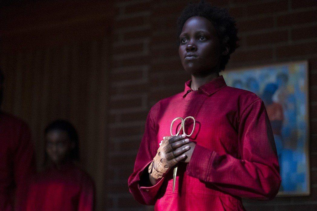 恐怖新片「我們」在北美上映3天狂賣7030萬美元。圖/UIP提供
