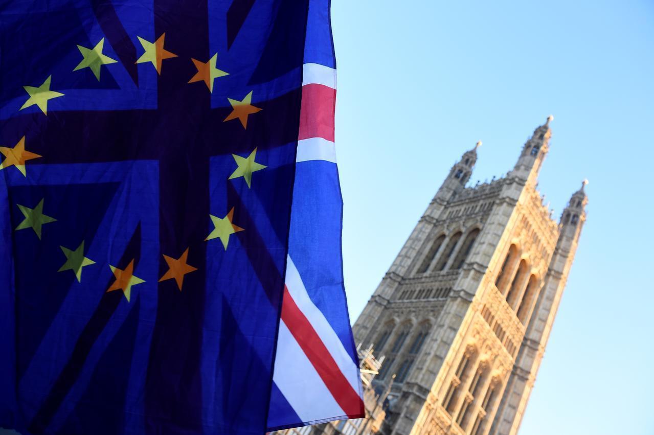英國預定脫離歐洲聯盟(EU)進入倒數計時。 (路透)