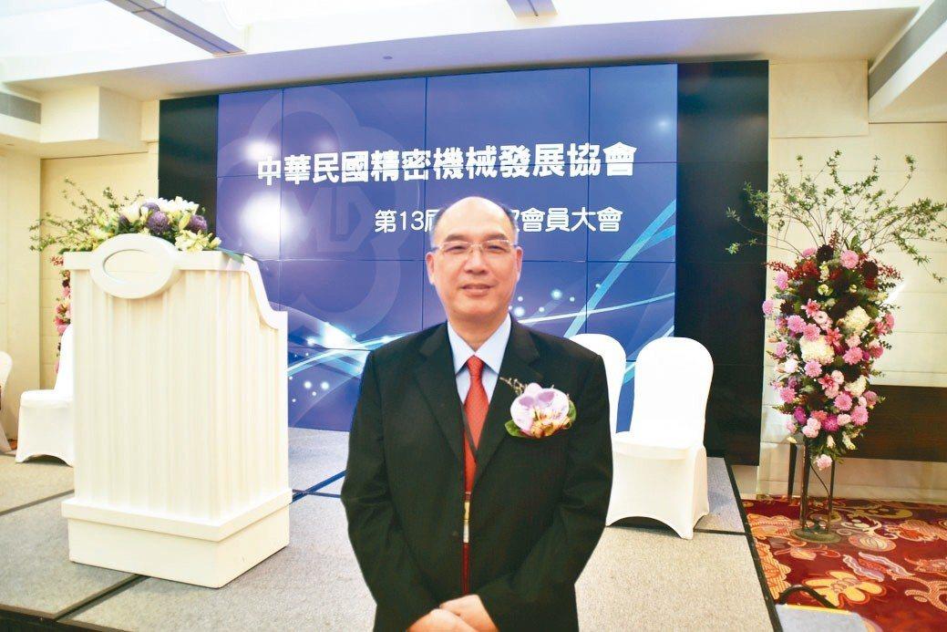 哈伯董事長許文憲續任CMD理事長。 林志鴻/攝影
