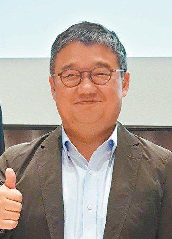 LINE財務長黃仁埈 記者彭慧明/攝影