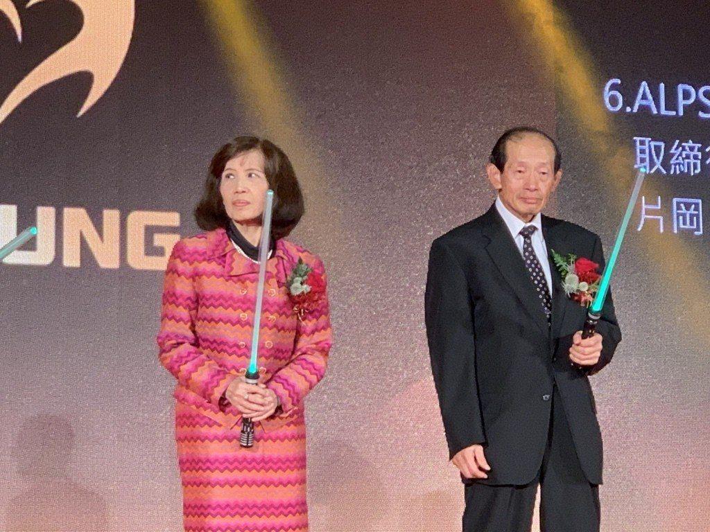 大同董事長林郭文艷(左),華映董事長林蔚山(右)。 圖/本報系資料照片