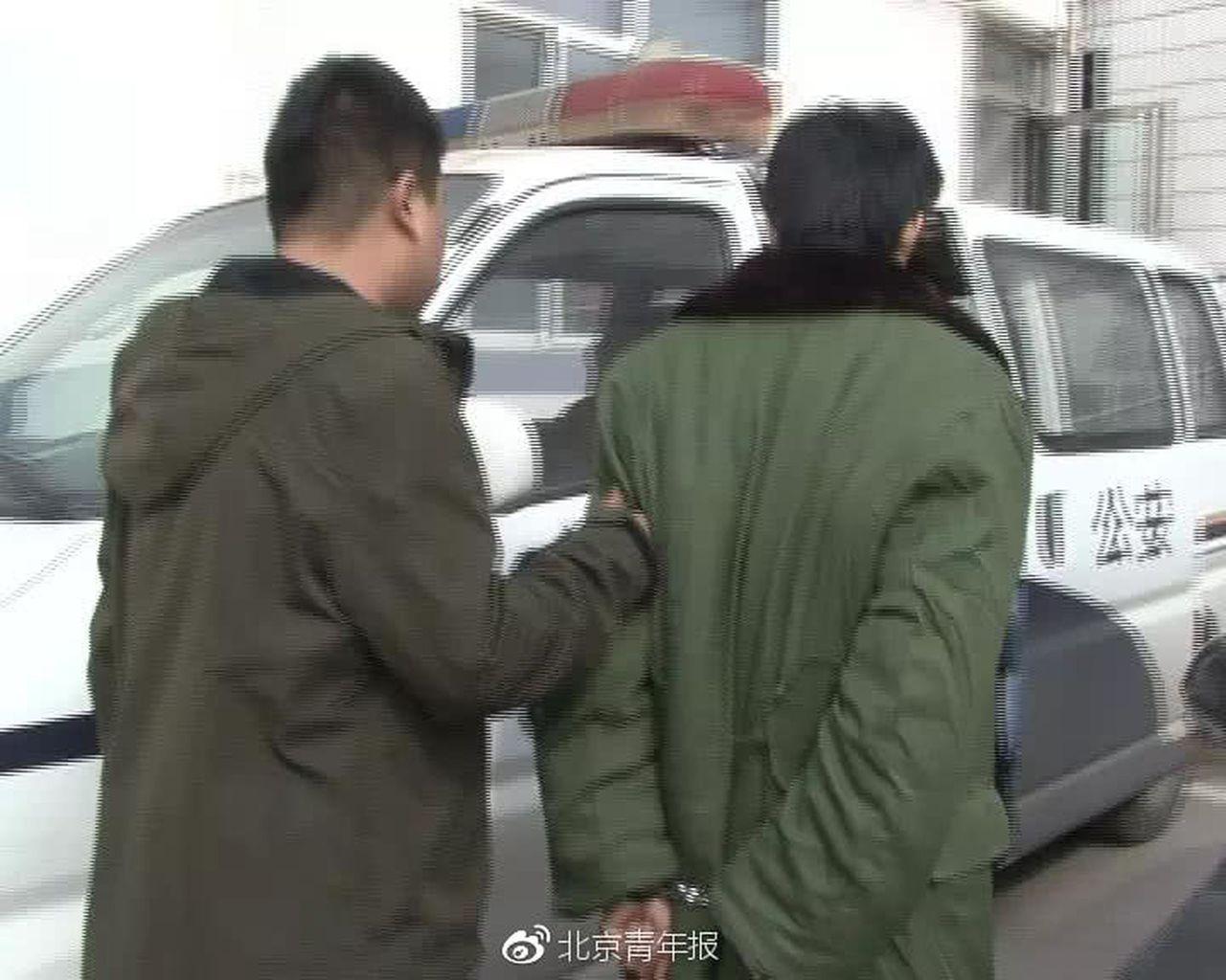 鮮肉男星周文與母親一起吸毒被警方逮捕。 世界日報記者高淑芬/翻攝