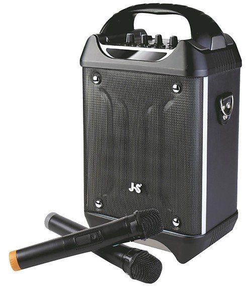 JS藍牙KTV音箱JS藍牙KTV音箱擁有VHF超高頻段,適合教學、演講、表演...