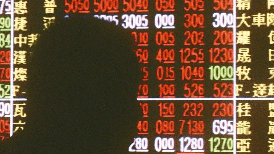 中小型類股漲勢首季較權值股更佳。 本報資料照片