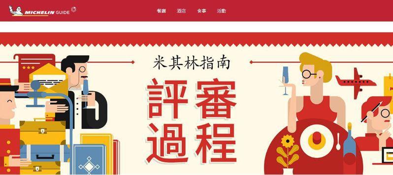 圖/擷取自米其林指南Taipei官方網站