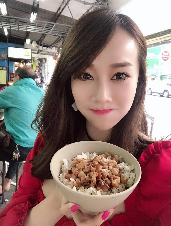 林佩瑤分享台南美食。 圖/擷自林佩瑤臉書