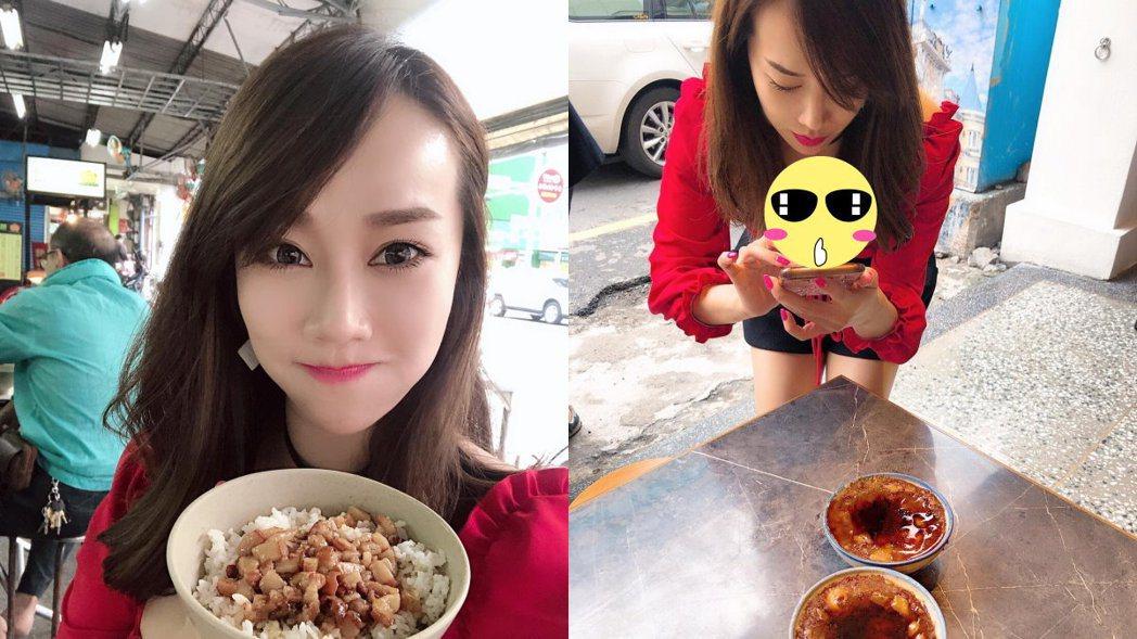 林佩瑤日前到台南旅遊。