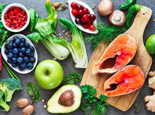 研究指出,地中海飲食的各項食物都對維持大腦認知能力有助益。(photo by F...