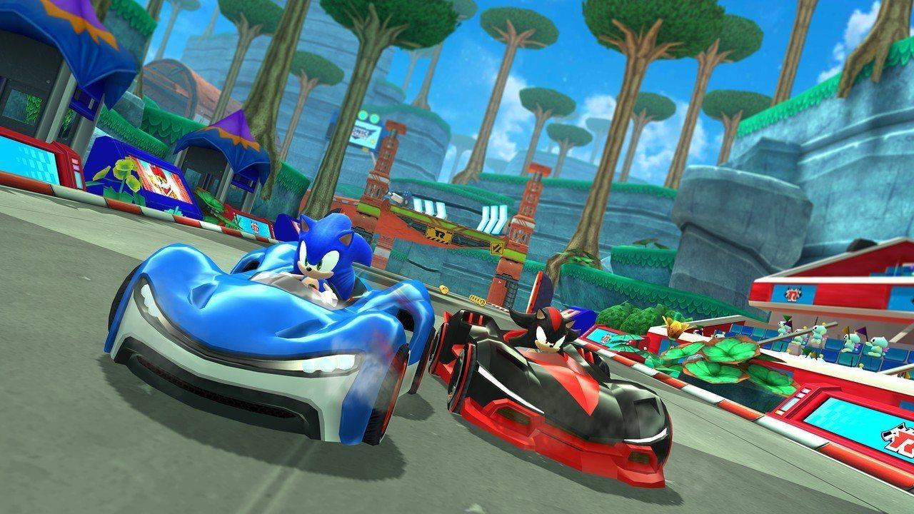 由SEGA製作的《Sonic Team Racing》,將在今年底於Apple ...