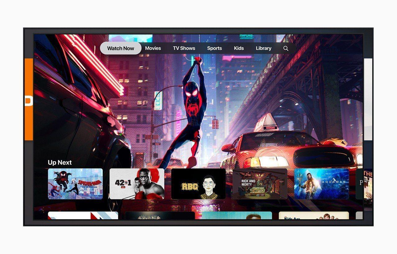 全新的Apple TV App將觀看節目、電影、體育賽事、新聞等多樣化內容全面集...