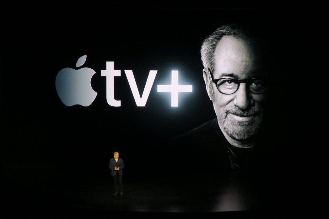 史蒂芬史匹柏宣告在Apple TV+製作新版「驚異傳奇」。記者蘇詠智/攝影