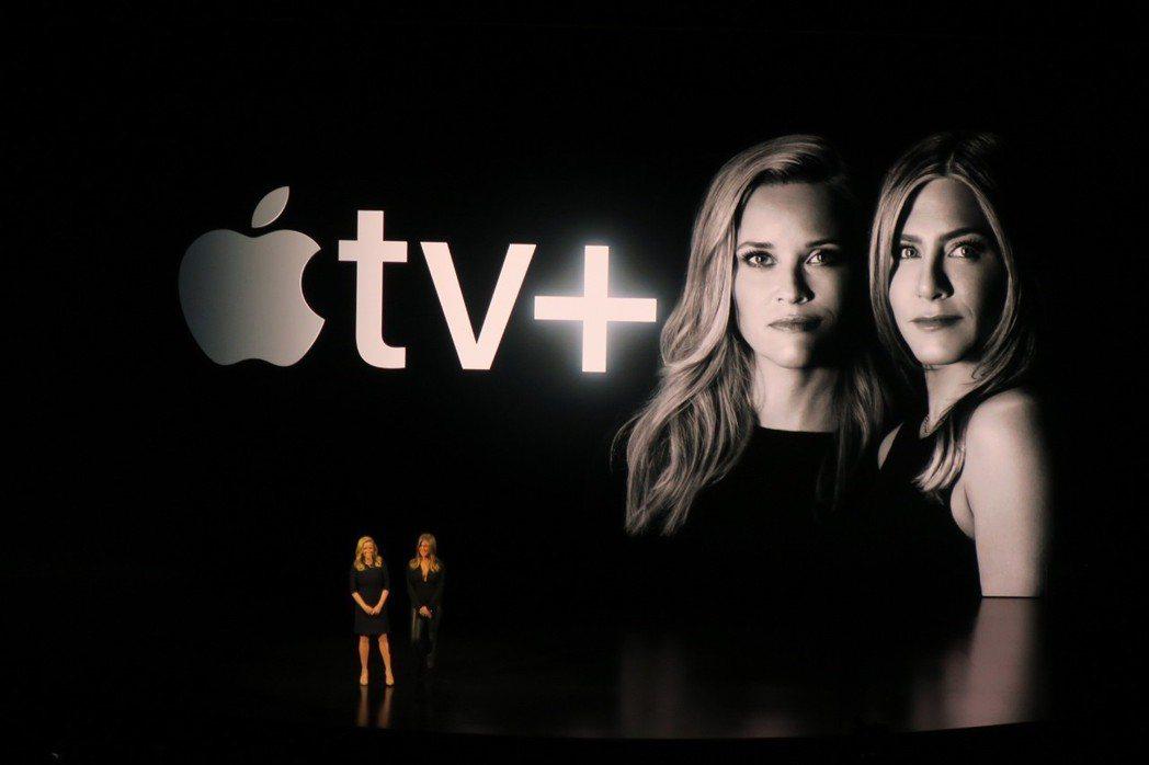 瑞絲薇絲朋與珍妮佛安妮絲頓再度合作,於Apple TV+推出新影集。記者蘇詠智/...