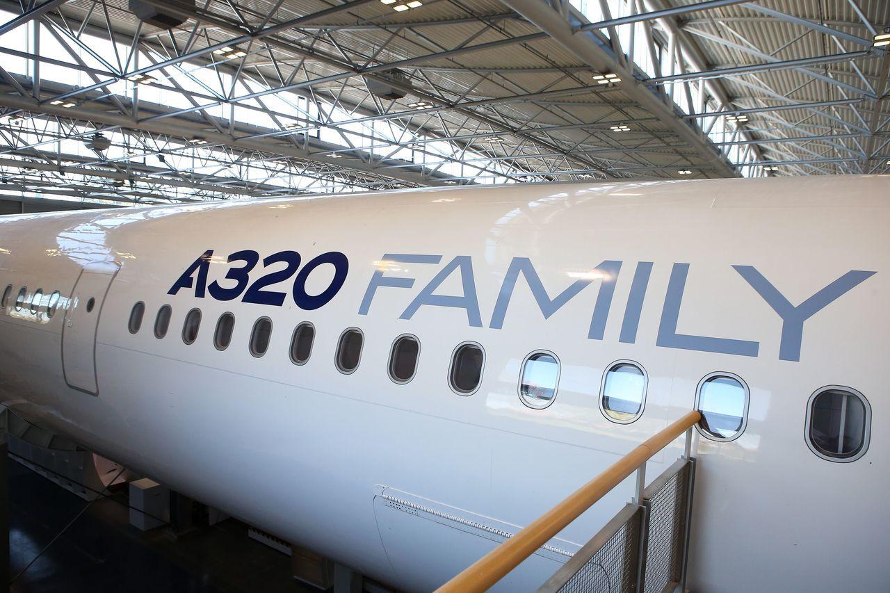 A320。歐新社