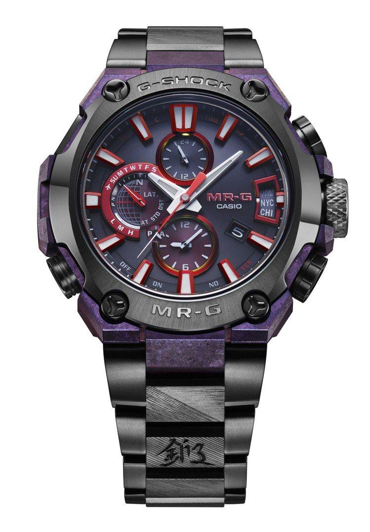 G-Shock MRG-G2000GA腕表,再結晶鈦表殼,約24萬元。圖/Cas...