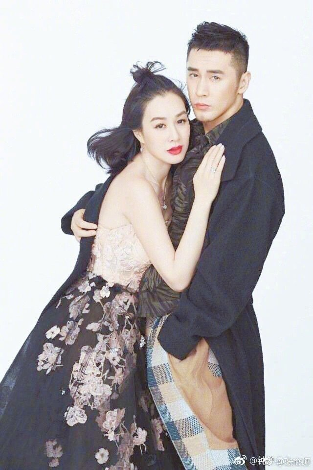 鍾麗緹與張倫碩。圖/摘自微博