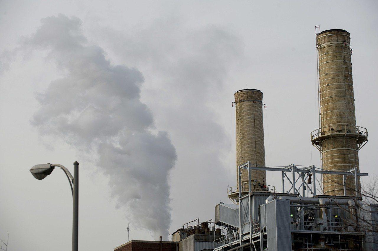 美國華盛頓州燃煤發電廠。歐新社