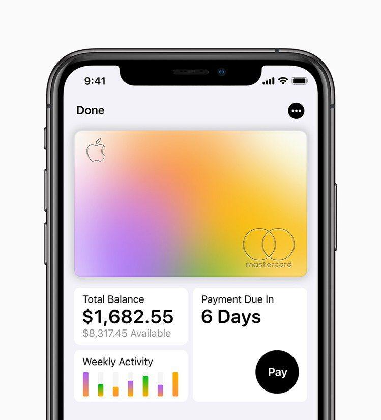 Apple Card專為iPhone設計,可整合所有消費內容。圖/蘋果提供