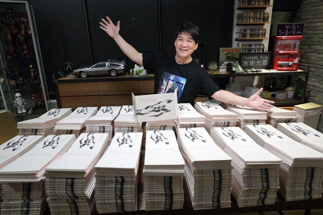 周華健與知名作家張大春合作,推出音樂劇專輯「賽貂蟬」。圖/滾石唱片提供