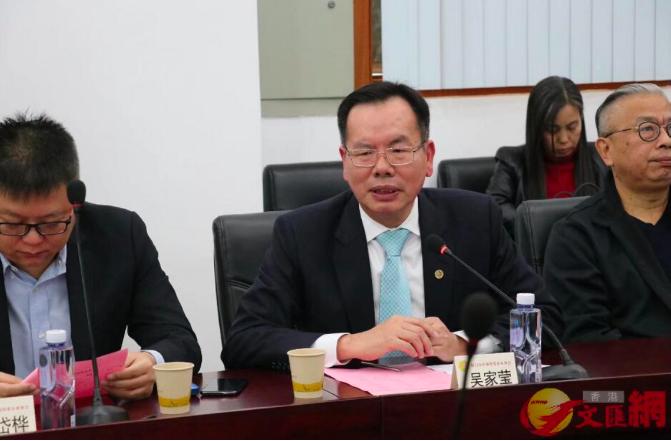 廈門台商協會會長吳家瑩認為,廈門與高雄對接舉辦「雙城論壇」更合適。(香港文匯網)