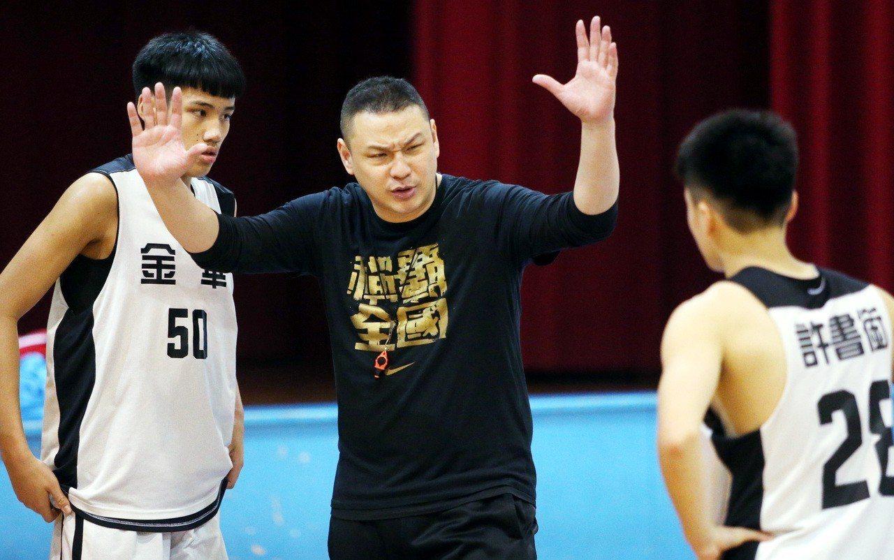 金華國中籃球隊員許書銜。記者侯永全/攝影