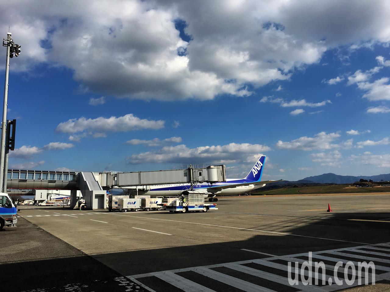 桃園機場公司與日本四國高松機場締結為友好姊妹機場。圖為高松機場現況。(桃園機場公...