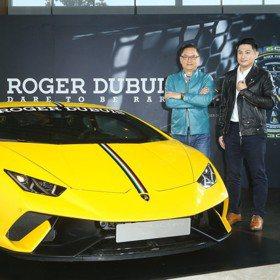 林振廷父子首度合體為Roger Dubuis 林帛亨育嬰心得:像職業賽車一樣辛苦