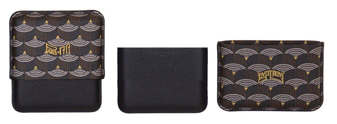 Étui Secret是用來裝保險套的小配件,展現品牌幽默感(圖中、右為開啟後的...