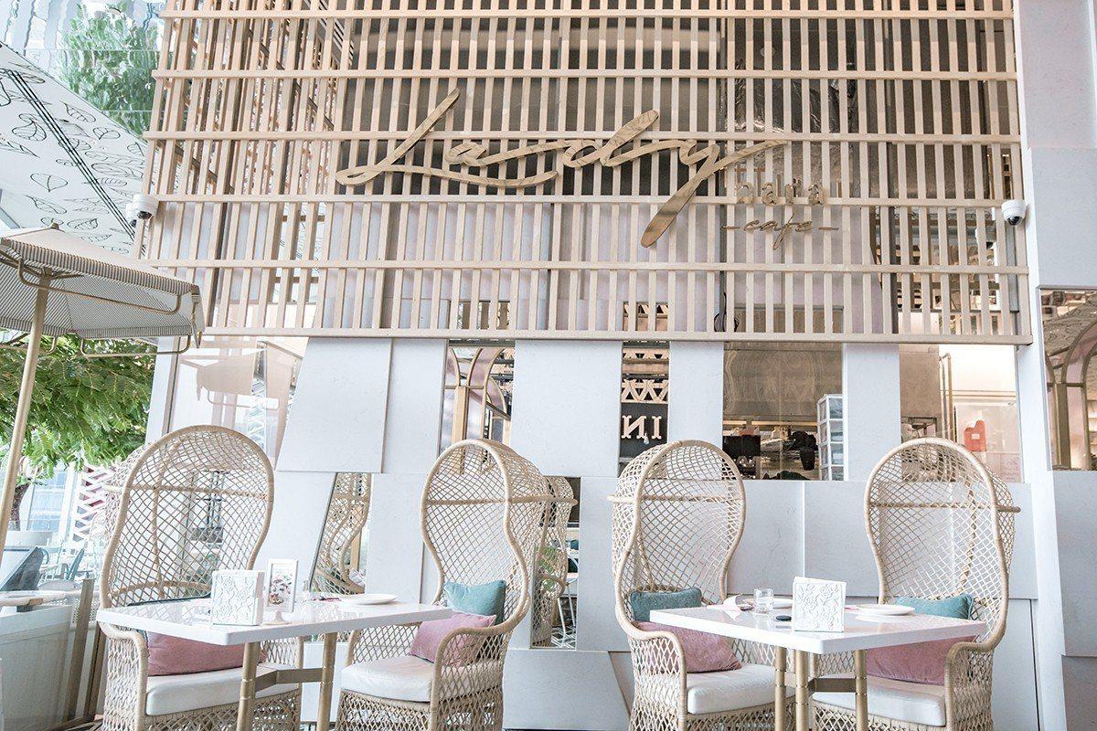 Lady nara擁有夢幻的氛圍,是曼谷人氣打卡餐廳。圖/金田餐飲提供