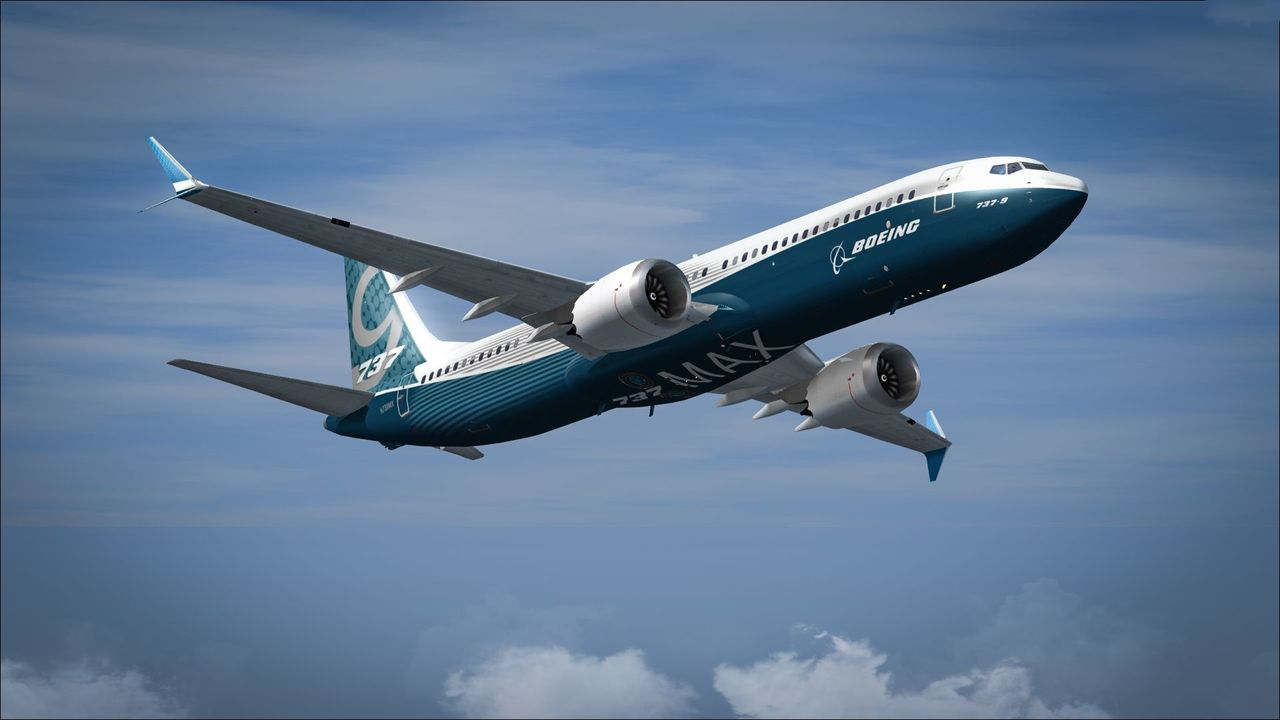 大陸民航局宣布,將暫停引進新的波音737MAX飛機。(網路照片)