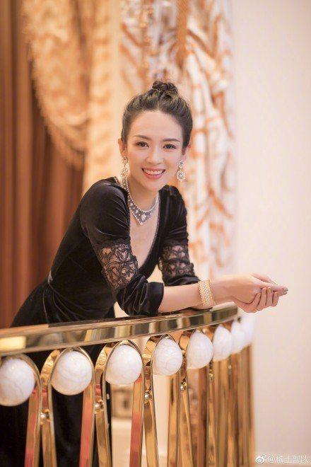 章子怡演的古裝戲可望重見天日。圖/摘自微博