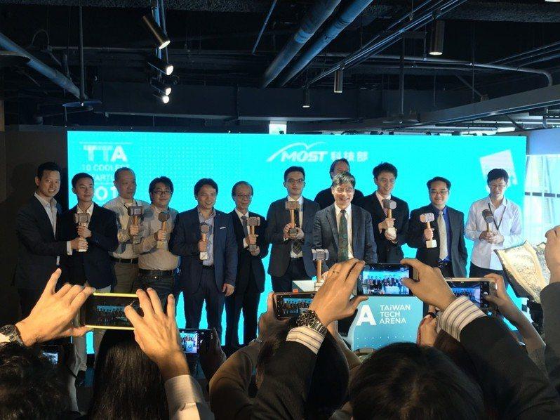 科技部聯手新創圈各界代表 ,選出台灣10家最酷技術新創公司。圖/林于蘅攝影
