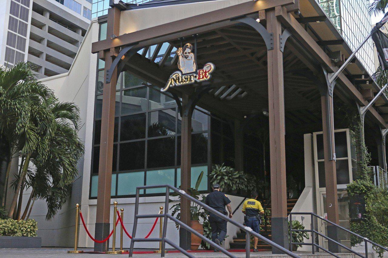 戈克切在美國邁阿密開設牛排餐廳。(美聯社)