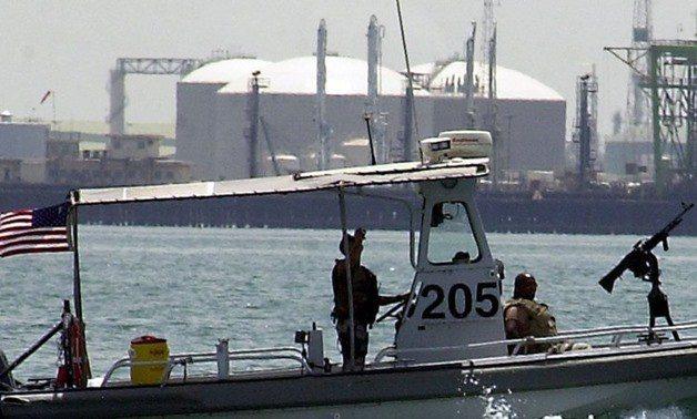 巴林是美國海軍在中東的大本營。法新社