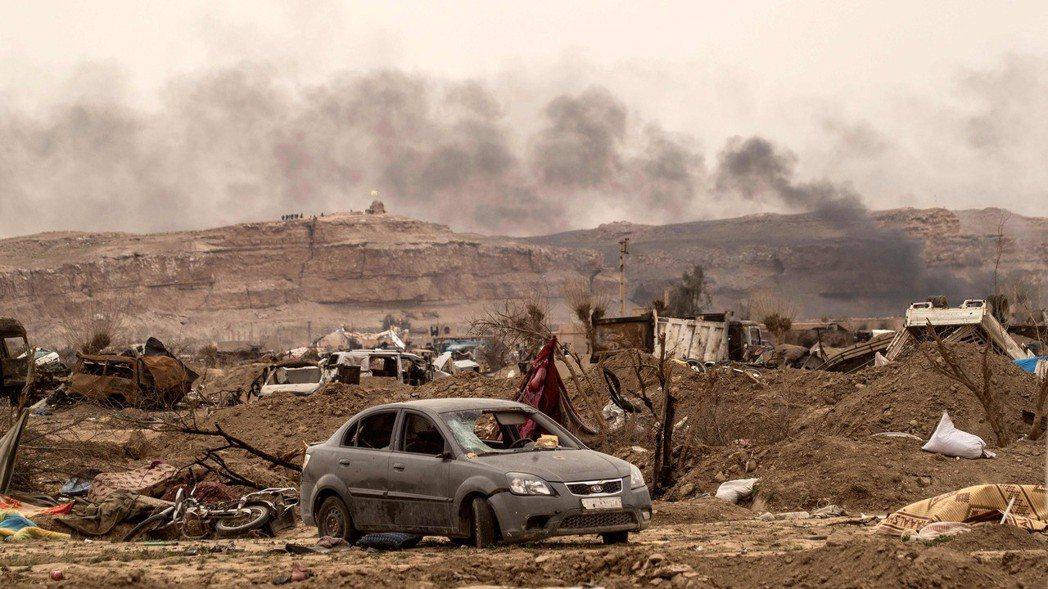 敘利亞民主軍宣布攻下IS的最後據點巴古斯村,消滅此激進組織。 (法新社)