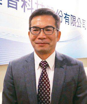 雍智科技董事長李職民 記者簡永祥/攝影