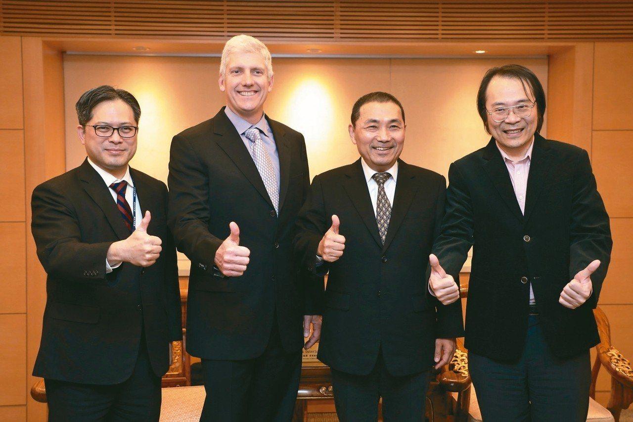 Google宣布進駐新北市Tpark(台北遠東通訊園區),是國際大型企業進駐新北...