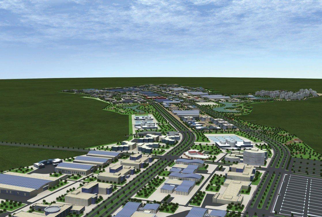 彰化縣二林精密機械園區將朝低汙染、低耗水、低耗能的方向開發。彰化縣政府╱提供