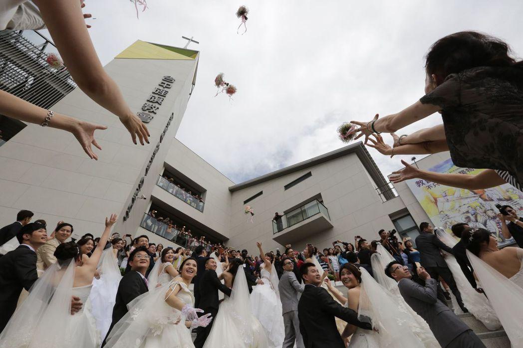 政府鼓勵結婚,並加碼鼓勵生第二胎。圖╱聯合報系資料照片