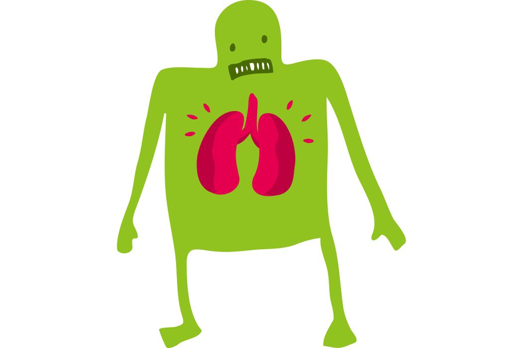 少喝冰水、不抽菸、不熬夜,把肺氣養回來。 圖/ingimage