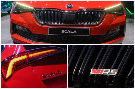 ŠKODA全新性能掀背Scala RS有譜? 而且還是油電的?