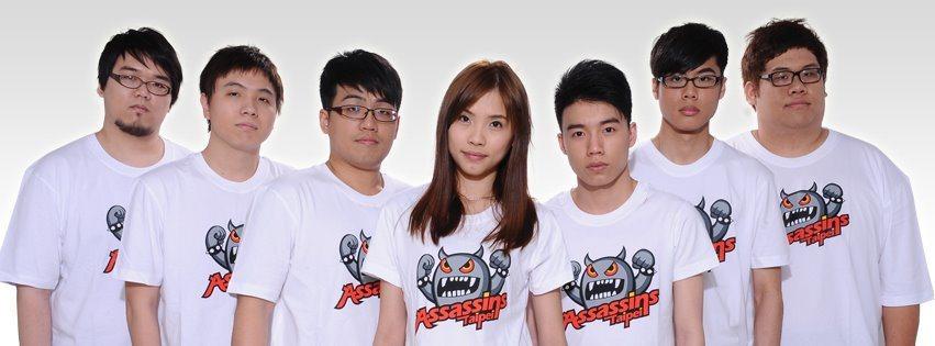 初代TPA陣中也有女選手Colalin 圖/tieba