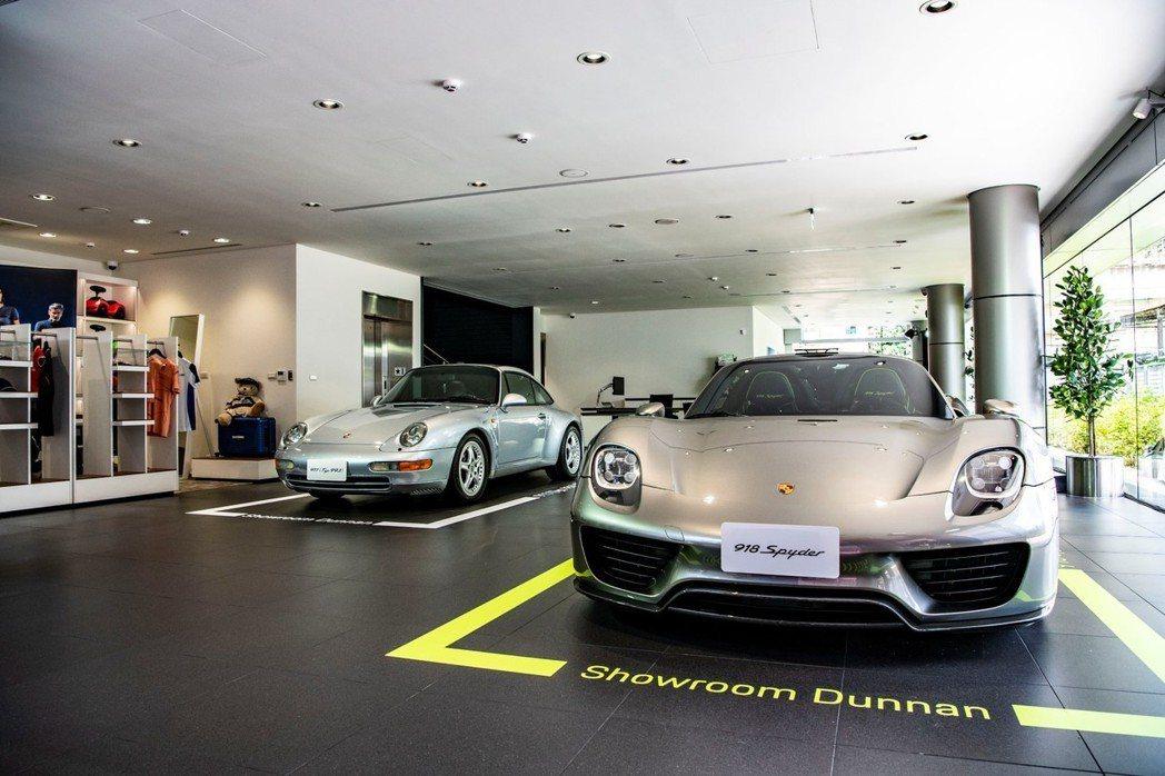 「保時捷 台北 敦南展示中心」同時也是台北市內第一家擁有VIP Lounge的據...