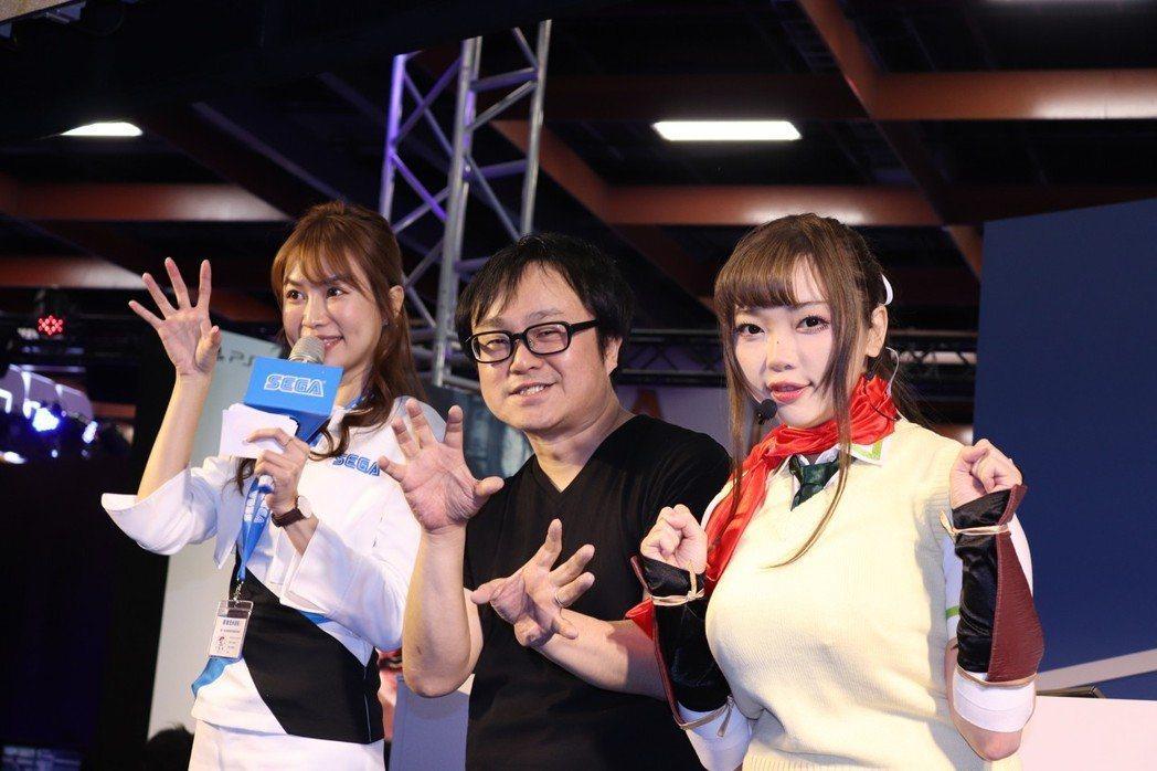 「爆乳製作人」高木謙一郎於TGS2019來台宣傳《忍紓壓 閃亂神樂》及《桃色彈珠...