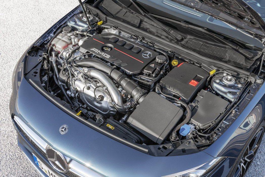 和A250同一具代號M260的2.0升直列4缸渦輪增壓引擎,能輸出最大302hp...