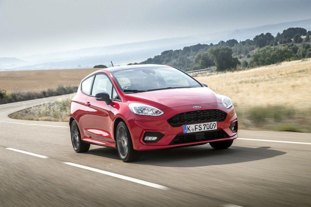 Ford Fiesta的1.0升EcoBoost渦輪增壓引擎將於明年導入48V輕...