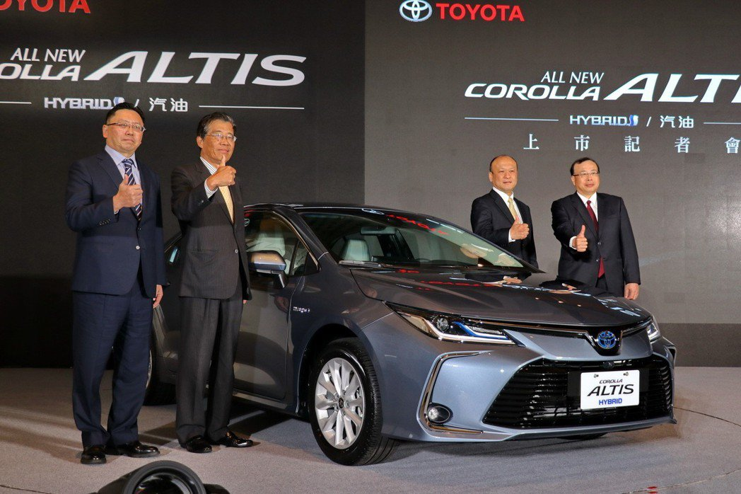 新一代Toyota Corolla Altis終於在台發表。 記者陳威任/攝影
