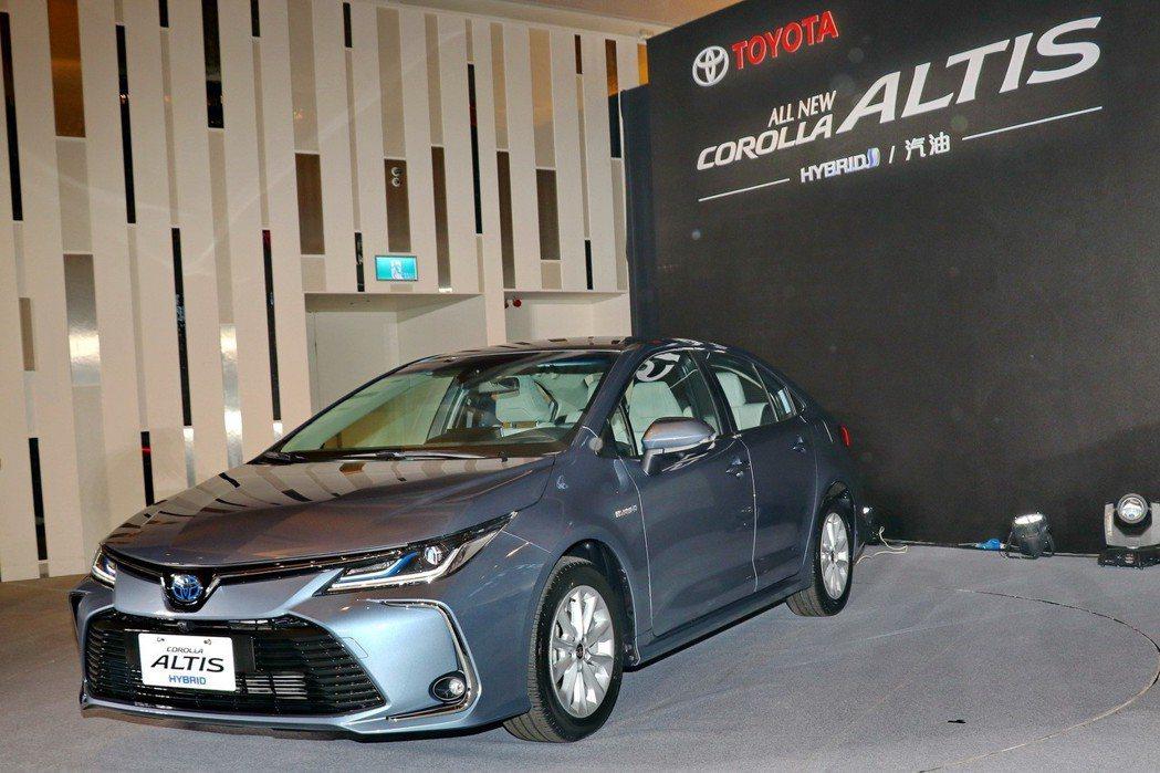 Corolla Altis首度推出1.8 Hybrid油電車型。 記者陳威任/攝...