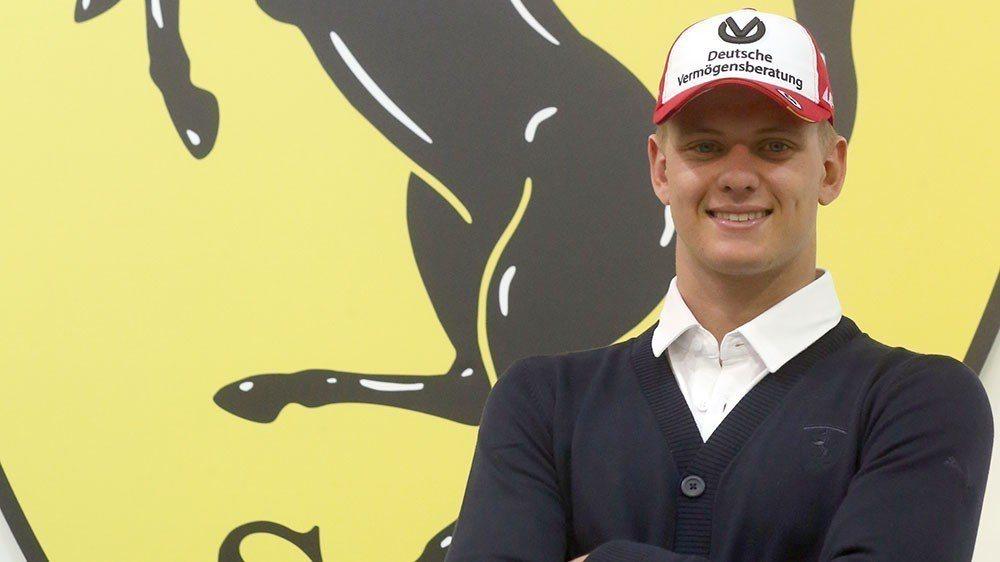 Mick Schumacher將會是Ferrari積極培養的車手。 摘自FORM...