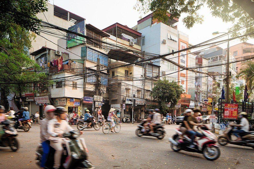 到越南內河內老城區可以一睹居民的日常生活。圖/TripAdvisor提供